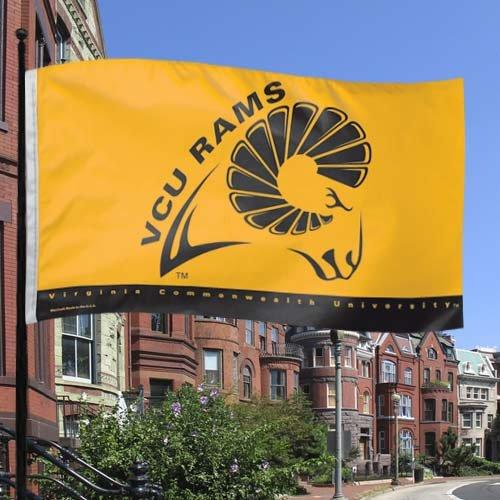 NCAA VCU Rams 3' x 5' Gold Team Logo Flag by WinCraft