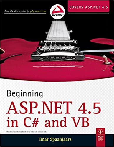Book Beginning ASP.NET 4.5 in C# and VB