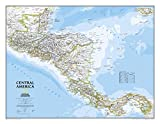 Central America Classic Wall Map Map Type: Laminated (22'' x 29'')