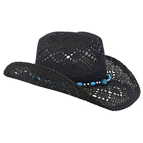 Cowboy Hat w/ Beads