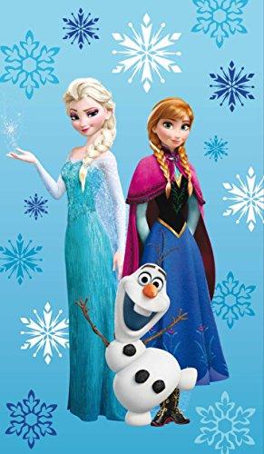 Disney die Eiskönigin Strandtuch 75 x 150 cm Elsa, Anna, Olaf 100% Baumwolle Frozen