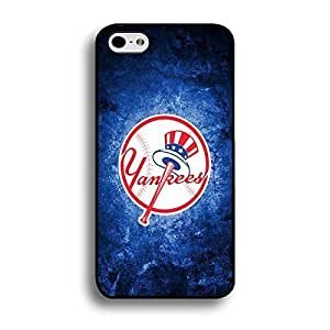 Iphone 6 Plus (5.5 Inch) Case Colorful MLB New York Yankees Baseball Team Logo Sports Designs Hard Plastic Tpu Style Durable Protection Phone Accessories Case Cover for Men
