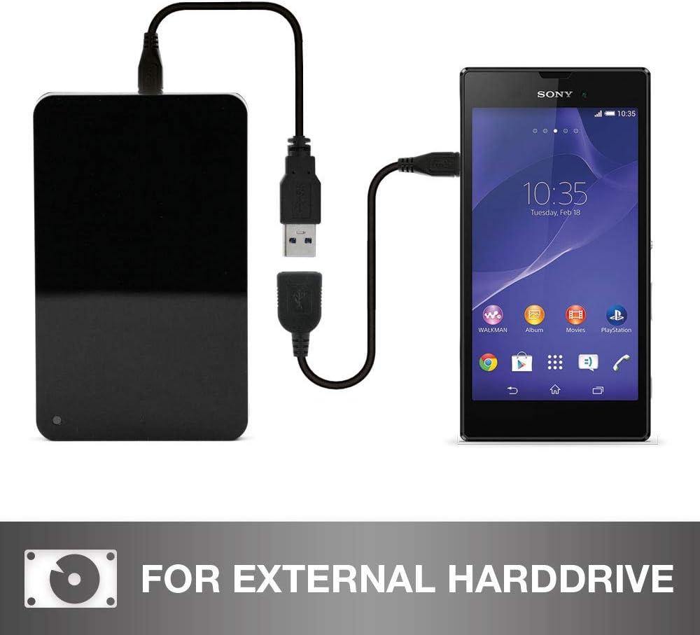 Adaptateur OTG QV1030 subtel C/âble USB OTG pour Gigaset QV830