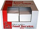 Berk Wiper FST-3000W Chefs Select 1/4 Fold Premium Heavy Weight Food Service Towel, 21'' Length x 13'' Width, White