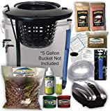 The Atwater HydroPod - DIY Add Your Own Bucket KIT - Dual DWC Deep Water Culture/Recirculating Drip Hydroponic Garden System - Bubble Bucket - Grow Your Own! Start Today!Bucket Not Included Save $$
