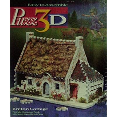Puzz 3D Breton Cottage: Toys & Games