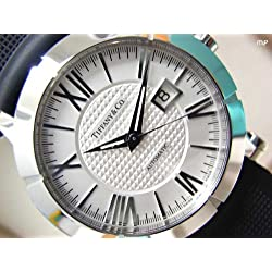Tiffany & Co. Watch Atlas Gent Silver Dial Automatic Winding Z1000.70.12a21a91a Men