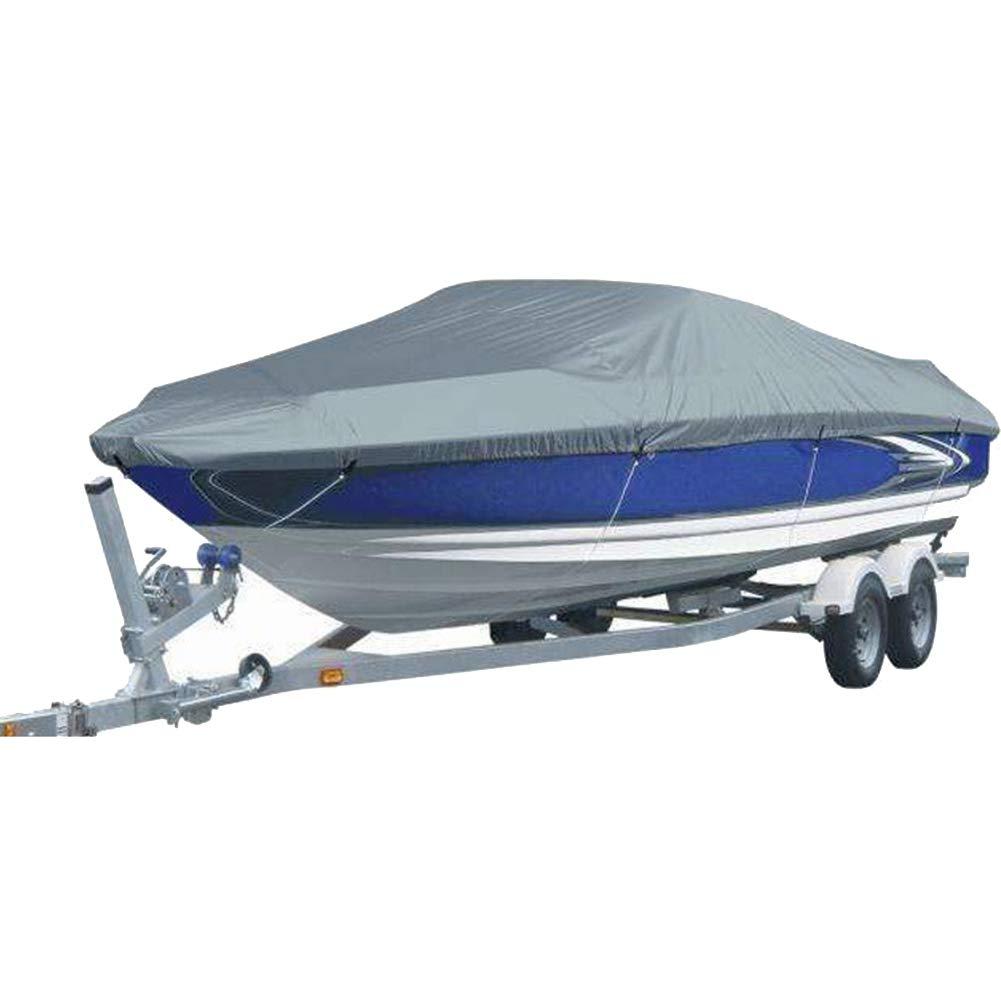 ダストカバー - ボートカバースピードボートフィッシングスキーカバーヨットカバー防水UVプロテクションオックスフォードクロス210D防水アクセサリーV字型ボート(4サイズ) (サイズ さいず : 14-16ft/530 x 290CM) 14-16ft/530 x 290CM  B07L2Z2ZBS
