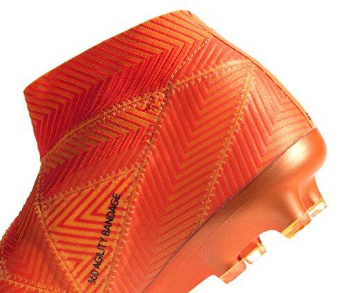 Bota Adidas black Red Fg Fútbol De solar Zest 18 Nemeziz xgxrvw