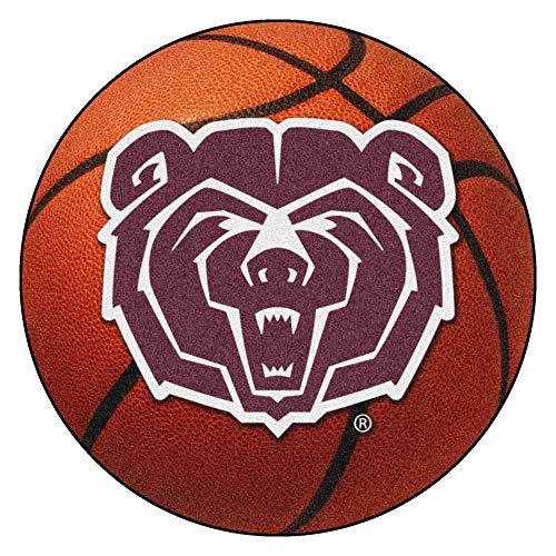 FANMATS NCAA Missouri State (SW) Bears Nylon Face Basketball Rug
