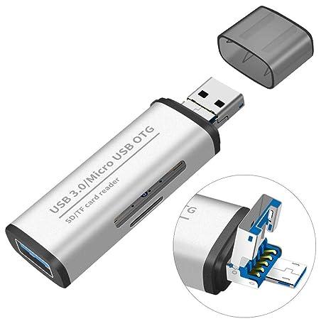 cedarfiny Lector De Tarjetas SD USB 3.0 Lector De Tarjetas ...