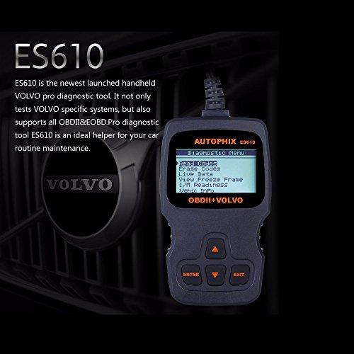 AUTOPHIX ES610 Professional Auto OBD2 EOBD Diagnostic Tool for Volvo by AUTOPHIX (Image #5)