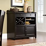 Sauder Edge Water Side Board, Estate Black