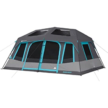 Ozark Trail 10-Person Dark Rest Instant Cabin Tent  sc 1 st  Amazon.com & Amazon.com: Ozark Trail 10-Person Dark Rest Instant Cabin Tent ...