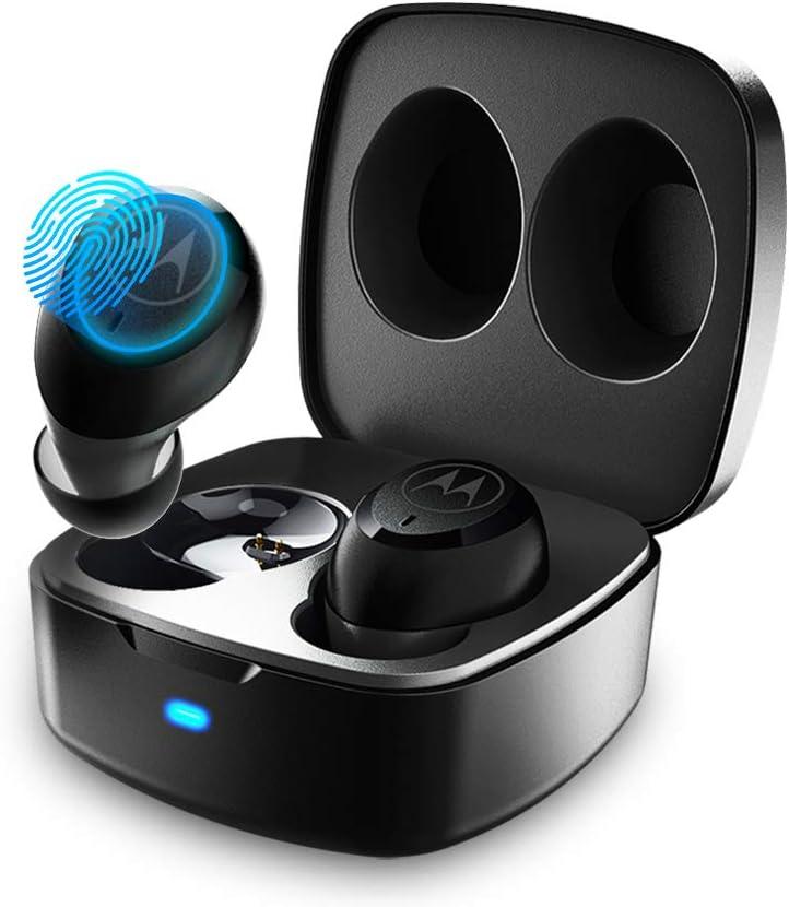 MOTOROLA Vervebuds 100 Earbud Headphones, Waterproof True Wireless Earbuds, Bluetooth 5.0 in-Ear with Hands-Free Call Microphone
