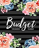 img - for Budget Planner Organizer: Beautiful Floral Watercolor 12 Month Budget Planner Journal Notebook Finance Planner, Money Organizer, Debt Tracker book / textbook / text book