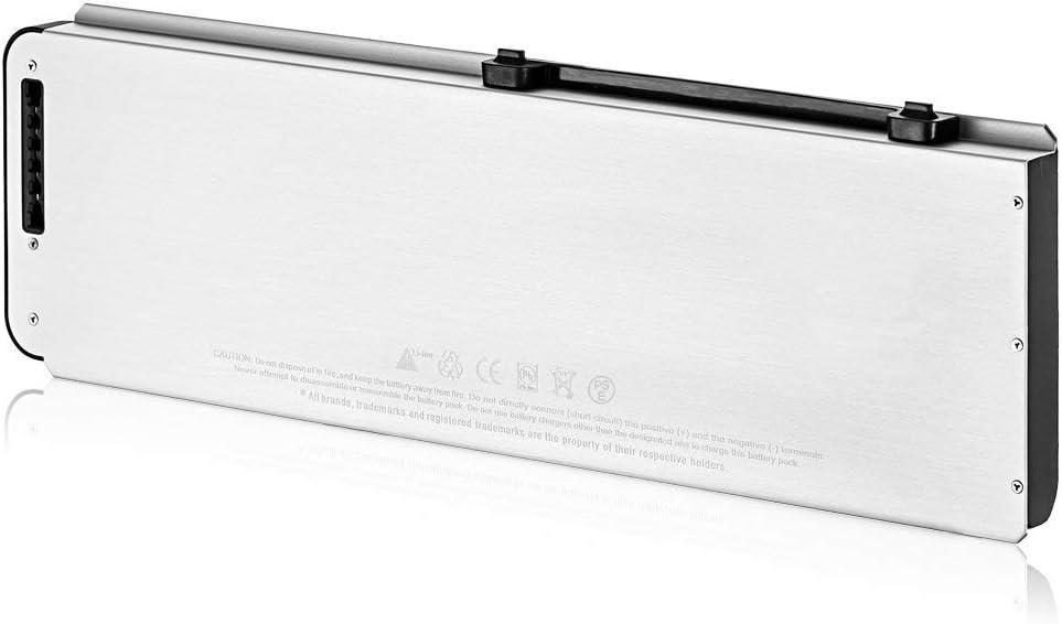 MacBook Pro 15 A1281 Ersetzen Batterie Aluminium Unibody Li-Polymer 10.8V 5000mAh SLODA Laptop Ersatz Akku f/ür Apple MacBook Pro 15 A1281 A1286 Sp/äte Version 2008