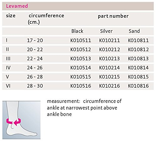 Medi Levamed Knit Ankle Support (Black) Size III by Medi Ortho (Image #6)