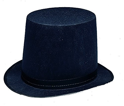 Lincoln Stovepipe Adult Hat (11361 Lincoln Stovepipe Hat)
