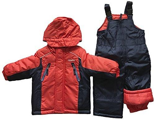 OshKosh BGosh Boys Two Piece Snowsuit Orange (12mo.)