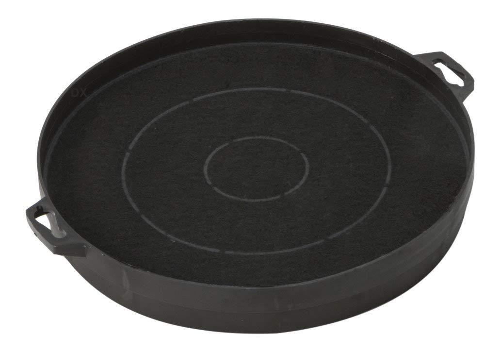 Filtre /à charbon pour hotte aspirante diam/ètre 210mm avec fermeture /à ba/ïonnette DREHFLEX AK01