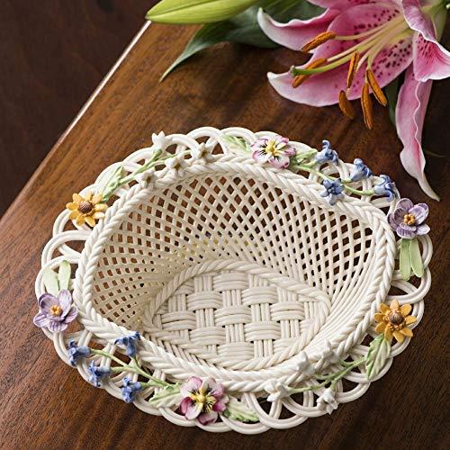 Belleek Basket - Belleek Spring Flower Basket (New for 2019)