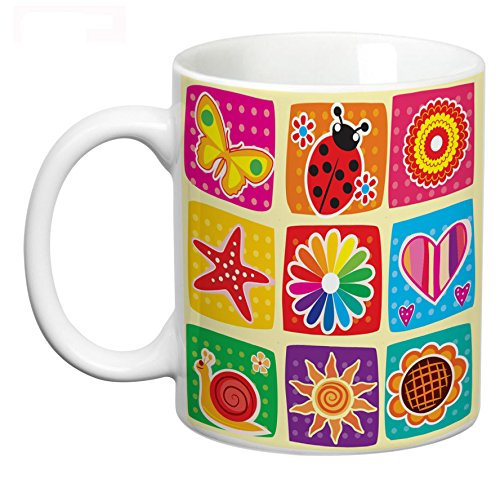Buy Abstract Design 31 Mug Coffee Mug For Kids Designer Coffee Mug Coffee Mugs Microwave Safe Printed Online At Low Prices In India Amazon In