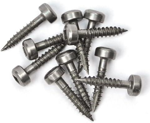 500-Count Kreg SPS-F075-500 0.75-Inch No.6 Fine Thread Pan Head Pocket Screws