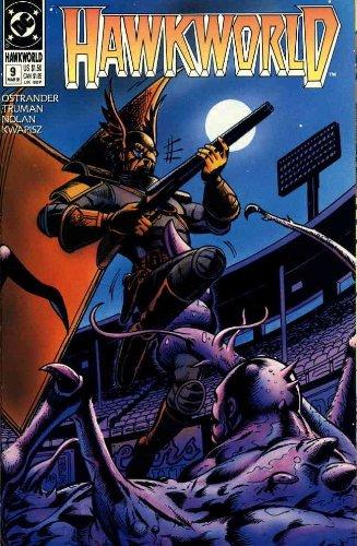 Hawkworld #9 FN ; DC comic book
