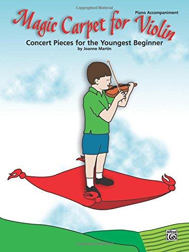 Magic Carpet for Violin Piano Acc. [Martin, Joanne] (Tapa Blanda)