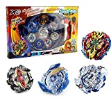 shabouly Bey Battle Burst Evolution Battling Top Metal Fusion with 4D Launcher Grip Set and Stadium