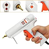 DB-Ken 110W 100-220°C Adjustable Temperature Professional Hot Melt Glue Gun 100-240V Repair Tool EU-PLUG White