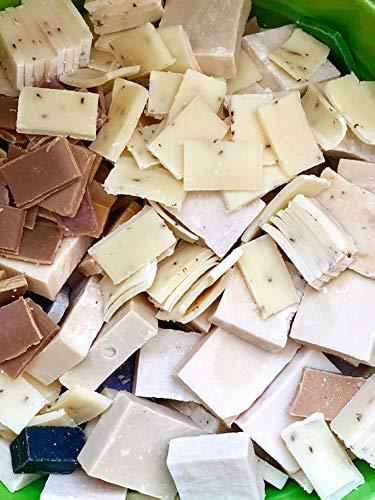 (1 lb Soap Scraps | Soap Clearance | Soap Ends | Natural Soap Bulk | Soap Pieces | Soap Odds and Ends | Soap Grab Bag | Handmade Soap Bag | Natural Soaps Bits | Soap Pieces | soap slices, bits, rounds)