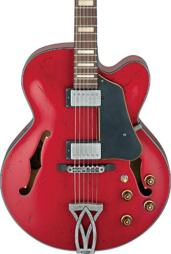 Ibanez Artcore Vintage Series AFV10A Hollowbody Electric Guitar Transparent Cherry Red Low Gloss