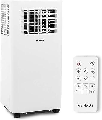 Mc Haus ARTIC-16 - Aire acondicionado portátil 7000BTU pingüino clase A ecológico, 3 en 1: refrigeración, ventilación y deshumificador, mando a distancia, hasta 20m2, color blanco: Amazon.es: Juguetes y juegos