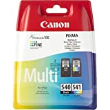 Canon PG540 CL541 Original Black & Colour Ink Cartridges for Canon PIXMA MG3650 Printers