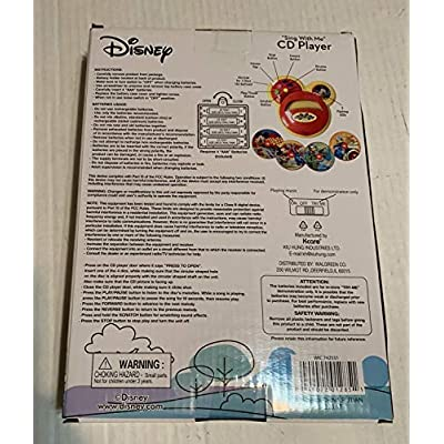 ACA Disney Mickey Mouse Sing with Me CD Player: Toys & Games