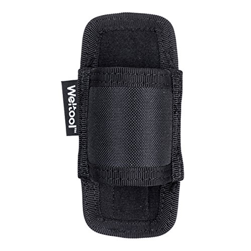 Black Open Top Compact Flashlight Holder Duty Belt Carry Cases For MAGLITE MID SIZE ML25, 50, 100 series, 2-4CELL C series Streamlight stinger series