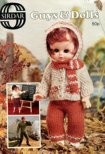 Guys & Dolls (Knit Doll Clothes Patterns) (Sirdar 117)