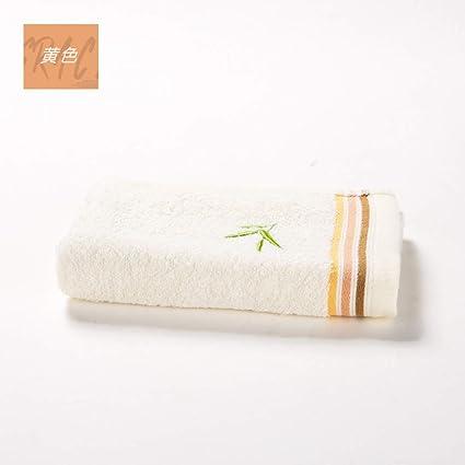 MAOJINMIAN La Pulpa de Fibra de bambú Suave y Absorbente Juego de Toallas limpias de carbón