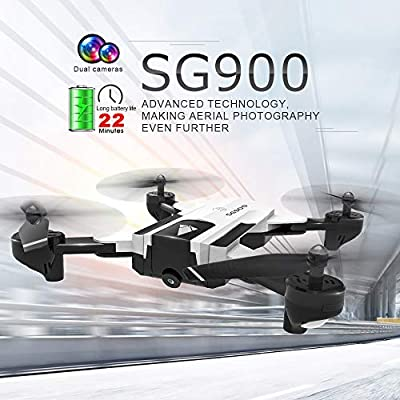 Amazon com: eTakin 2019 Newest SG900 Rc Drone Folding GPS Smart