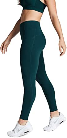 Rockwear Activewear Women's Fl Perforated Pocket Tight Dark Teal 8 from Size 4-18 for Full Length High Bottoms Leggings + Yoga Pants+ Yoga Tights