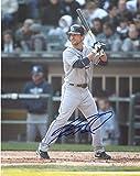 Sam Fuld Signed Photograph - At Bat 8x10 W coa - Autographed MLB Photos