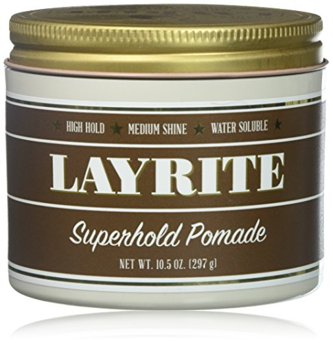 - Layrite Superhold Pomade, 10.5 Ounce