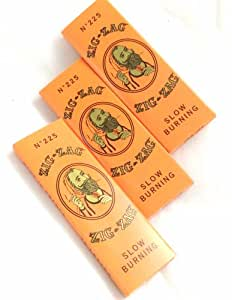 Zig Zag Orange Rolling Papers 1 1/4 - 3 Pack