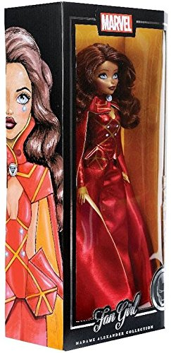 Marvel Fan Madame Alexander Girl Iron Man Action Figure 13.5 inch