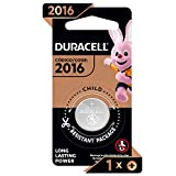 Duracell - 2016 3V Lithium Coin Battery - With Bitter Coating - 1 Count