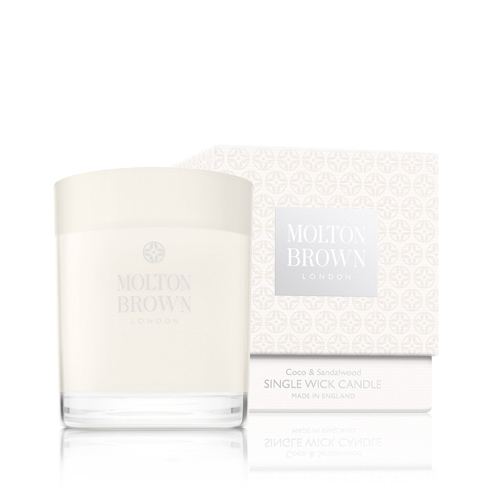 Molton Brown Single Wick Candle, Coco & Sandalwood, 6.3 oz.