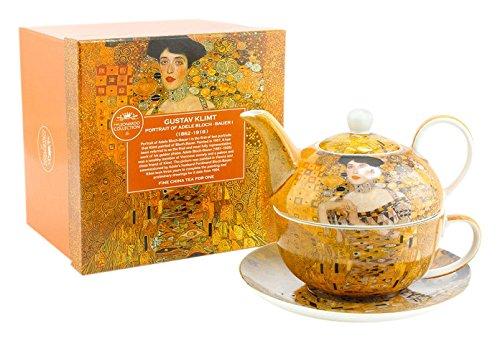 Lesser & Pavey Gustav Klimt Lady Tea For One, Yellow LP92687A