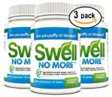 SwellNoMore Pill Reduces Puffy Eyes Swollen Feet Swelling Ankles, 60 tablets, pack of 3